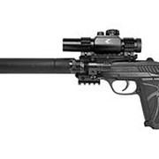 Пистолет пневматический Gamo PT-85 Tactical Blowback pellet пулевой 4,5 мм фото