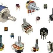 Резисторы переменные фото