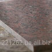 Плитка гранітна облицювальна термооброблена, Покостовське, світло-сірий, t=30 мм фото