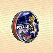 Плетёный шнур Ryujin 100 м, цвет - оранжевый диаметр 0,12 тест 10,0 кг фото