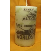 Свеча танкиста World of tank фото