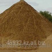 Песок мытый (для бетона, под стяжку) фото