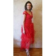 Пошить вечернее платье с вышитым гипюром в Киеве фото