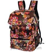Рюкзак с пряжками ПВХ цветы DERBY 0170205 фото