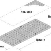 Матрац РЕНО 3х2х0.3, яч.8*10см,Д=2.7 / 3.4мм фото