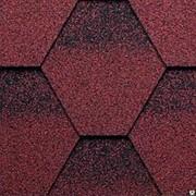 Мягкая кровля Kerabit коллекция K+ однотонная. Цвет красно-черный фото