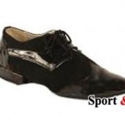 Туфли Мужской стандарт Т202 вставка лак фото