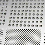 Перфорация металла (алюминий, акрил, нержавеющая сталь, оцинкованный лист, конструкционные стали) фото