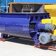 Двухвальный бетоносмеситель БП-2Г-2250 фото