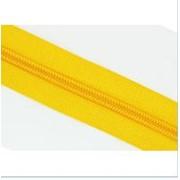Молния рулонная обувная №7 в ассортименте, желтая фото