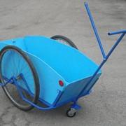 Грузовая тележка, велоприцеп универсальный Везун-4 СГ фото