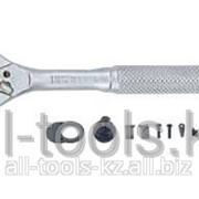 Трещотка с металлической ручкой - 24 зуб L=125 мм 1/4 Код:80224 фото