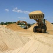 Песок щебень шлак керамзит глина грунт фото