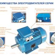 Рудничный электродвигатель АИМУР180M6, 1140В, 660/1140В клас изоляции F фото