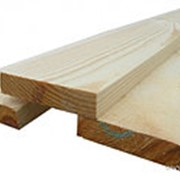 Доска обрезная ГОСТ (зеленый лес) 40мм х 200мм х 6000мм (1 шт) фото