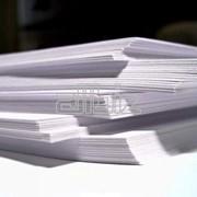 Бумага офисная, для факса фото