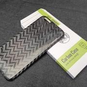 Карбоновый чехол iPhone 6 зиг-заг фото