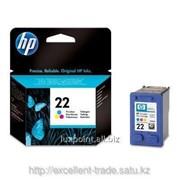 Струйный картридж HP DJ C9352AE (Original) №22 цв for DJ 3920/3940/PSC1410 фото