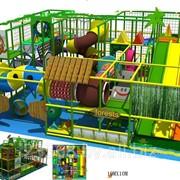 Лабиринт детский игровой 100м2 фото