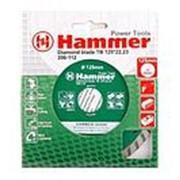 Диск алмазный HAMMER 206-112 DB TB 125*22мм. турбо фото