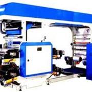 Линия для нанесения 4 цветной флексографической печати Модель HY/FF-4060BN фото