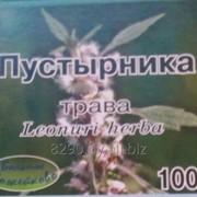 Трава пустырника, измельченное сырье в бумажных пакетах 100г. фото