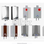 Установка котла газового (напольного) фото
