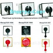 Пакетные кулачковые переключатели LK40-, LK63-, 40-60А. Спамел. Польша фото