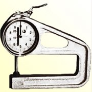 Толщиномер ТР 25-100 - диапозон толщины 0-25 мм, для испытаний текстильных материалов и обуви фото