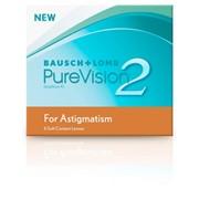 Торические линзы Bausch&Lomb Pure Vision 2HD for Astigmatism Сила то -9 до +6 фото