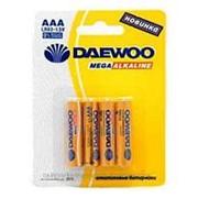 Батарейка Daewoo LR03 BL-4 4шт.пультовая /10/120/ фото