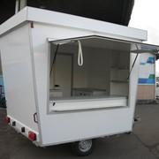 Одноосный торговый прицеп с измененной геометрией кузова Купава 813219-0005 фото