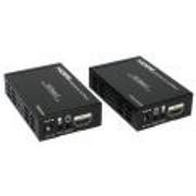 Удлинитель По Одному Кабелю HDMI HDBaseT 100m CAT6 (TCP/IP) С ИК фото