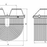 Металлические трубчатые петлевые рекуператоры герметичные для подогрева воздуха до 400°С и использование продуктов сгорания при температуре дымовых газов перед рекуператором до 900°С. фото