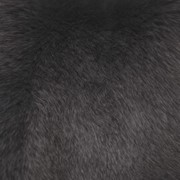 Мех Песец серо-коричневый фото
