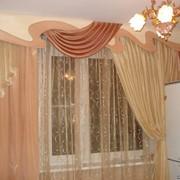 Пошив штор по индивидуальным заказам фото