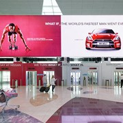 Indoor реклама (реклама внутри помещений) фото