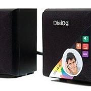 Система акустическая Dialog AD-02 black фото