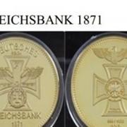 Монета Рейхсбанка 1871 г. фото