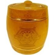 Мед «Бочонок деревянный морилка » (обруч) фото
