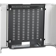"Шкаф 19"" настенный LANDE NETbox Slim - 480x160 мм - 8U фото"