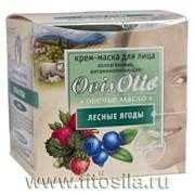 Крем-маска для лица Лесные ягоды коллагеновая витаминопитающая 50 мл (банка) фото