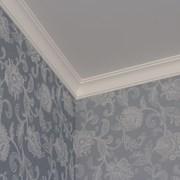 Натяжной потолок с плинтусом фото