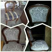 Реставрация стула фото