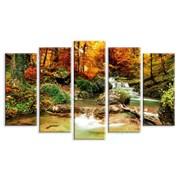 Картина Река в лесу фото