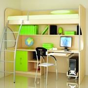 Изготовление мебели для детских комнат на заказ. фото