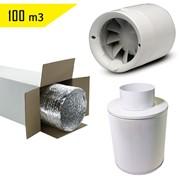 Комплект вентиляции 100 м3 фото