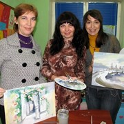 Мастер-класс: Экспресс-живопись, Батик фото