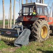 Мульчер тракторный для лесного хозяйства с подвижными молотками на трактор фото