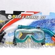 Набор: маска, трубка DORFIN PL-25128TPP термо стекло,PVC,TPP фото